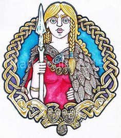 Freyja clipart #5, Download drawings