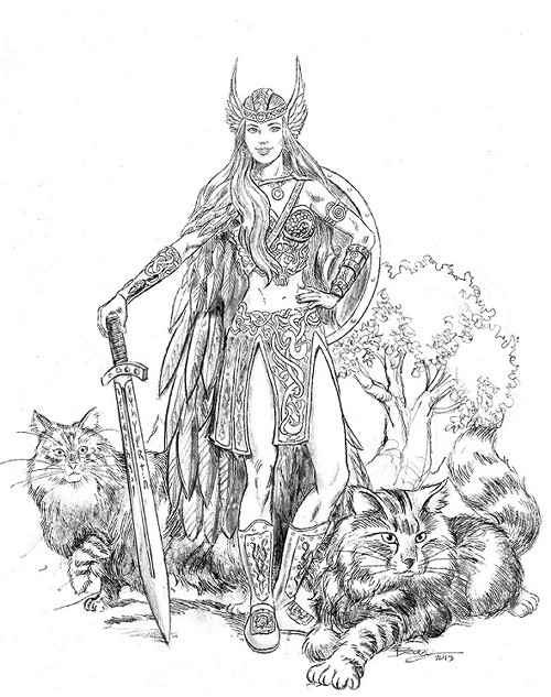 Norse Mythology coloring #15, Download drawings