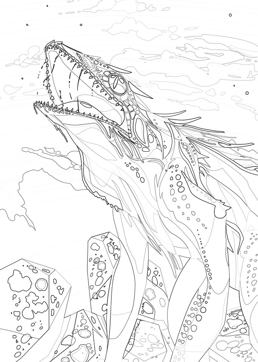 Freyja coloring #10, Download drawings