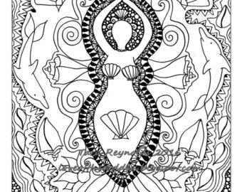 Freyja coloring #12, Download drawings