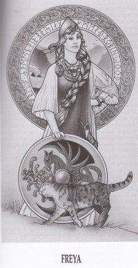 Freyja coloring #7, Download drawings