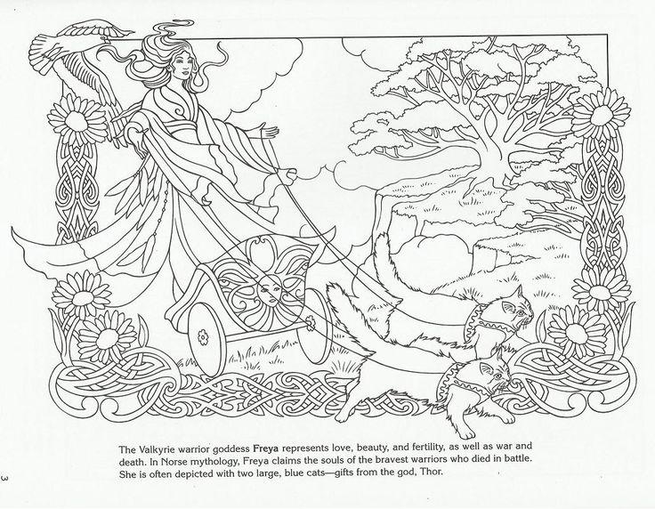 Freyja coloring #14, Download drawings