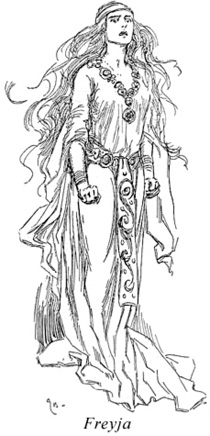 Freyja coloring #2, Download drawings