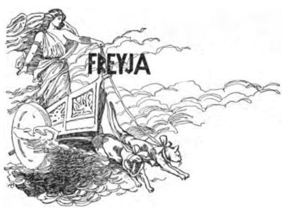 Freyja coloring #11, Download drawings