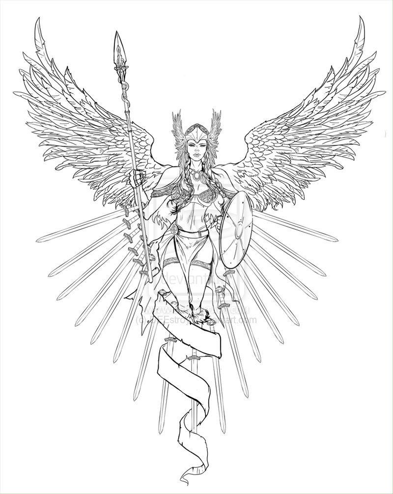 Freyja coloring #3, Download drawings