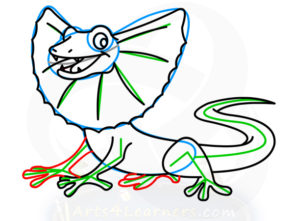 Frilled-neck Lizard clipart #9, Download drawings