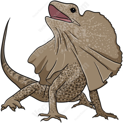 Frilled-neck Lizard clipart #19, Download drawings