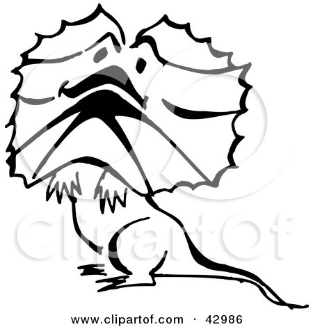 Frilled-neck Lizard clipart #17, Download drawings