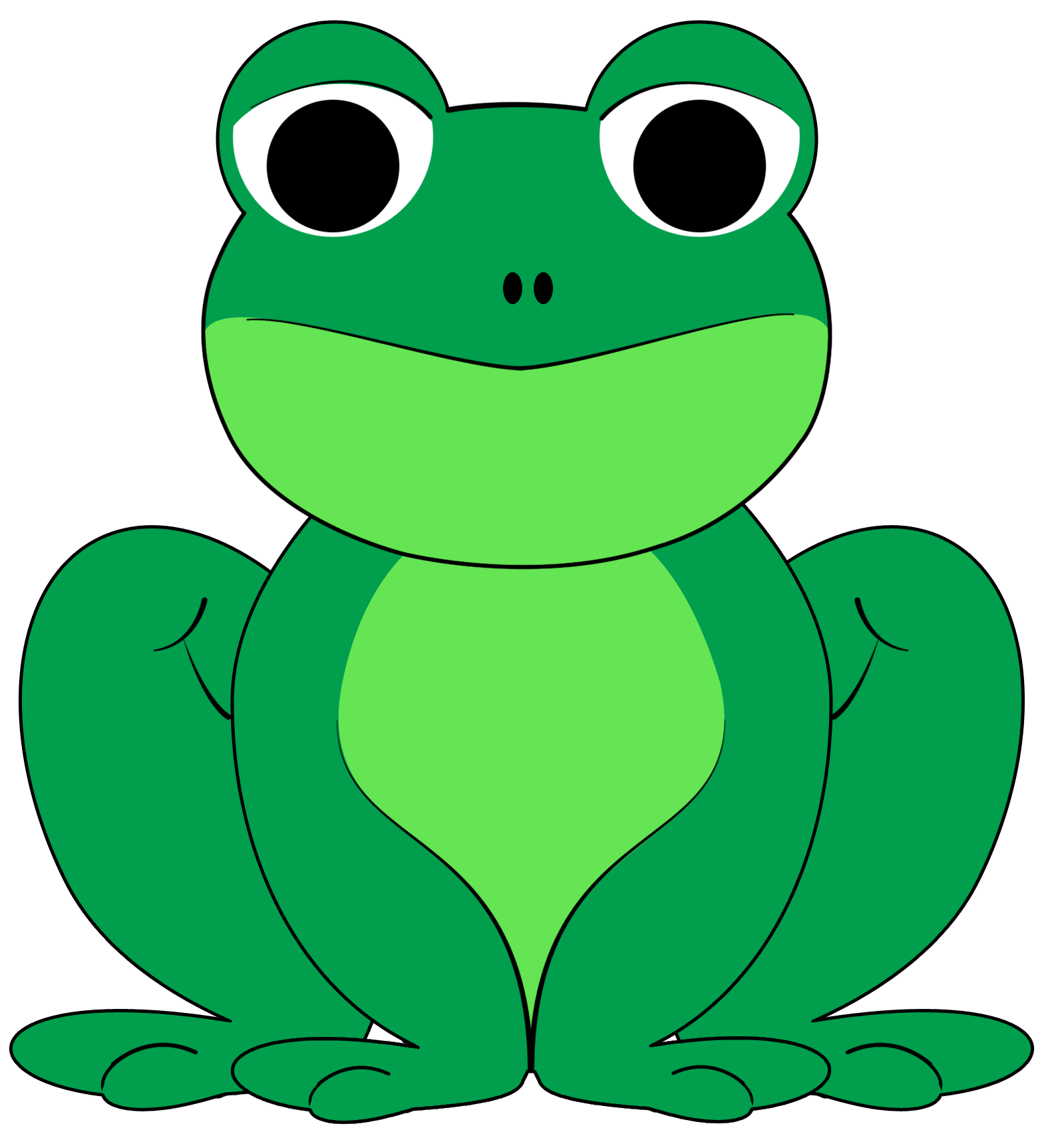 Frog clipart #4, Download drawings