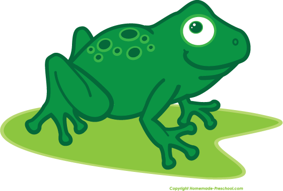Frog clipart #1, Download drawings