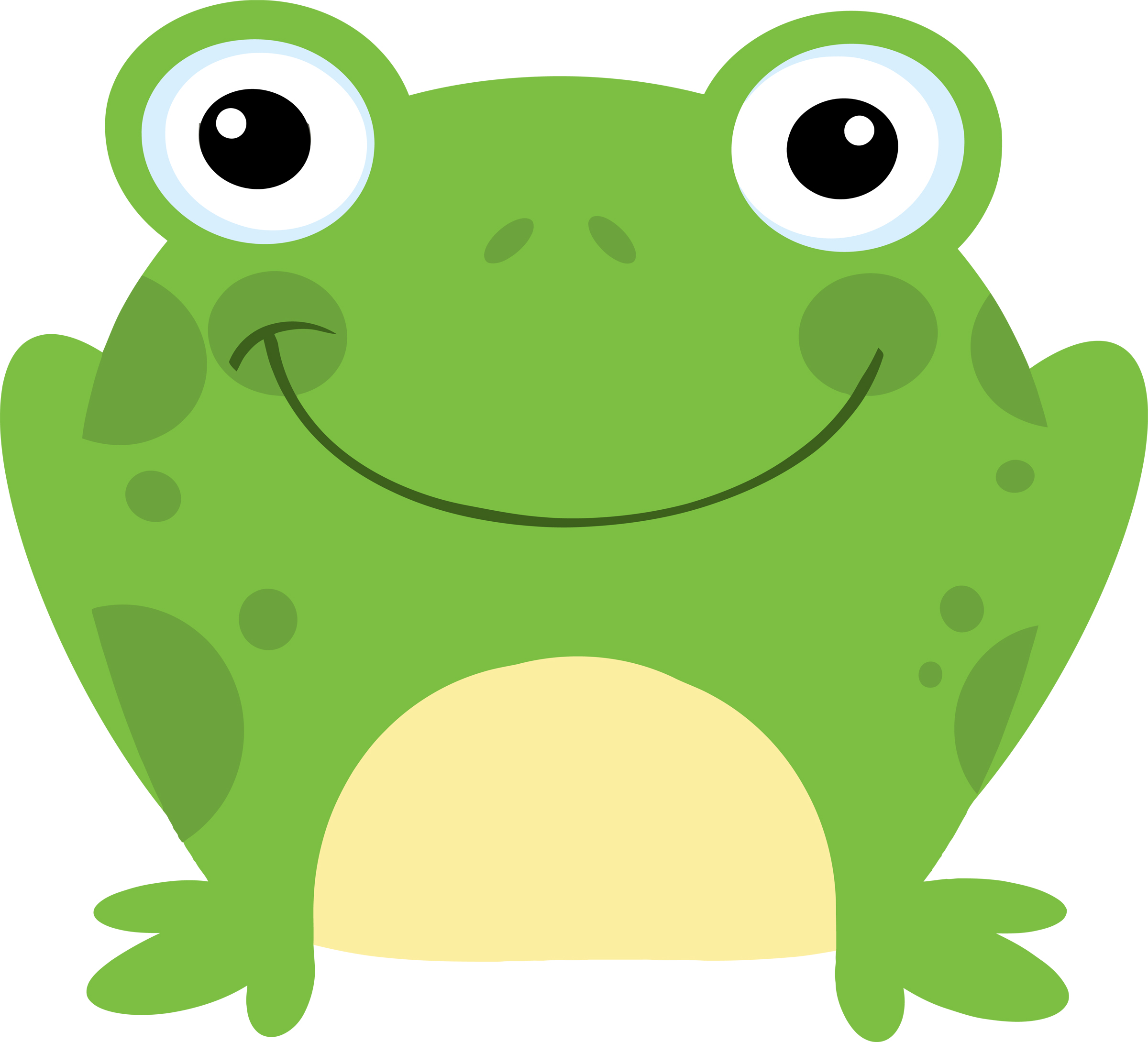 Frog clipart #2, Download drawings