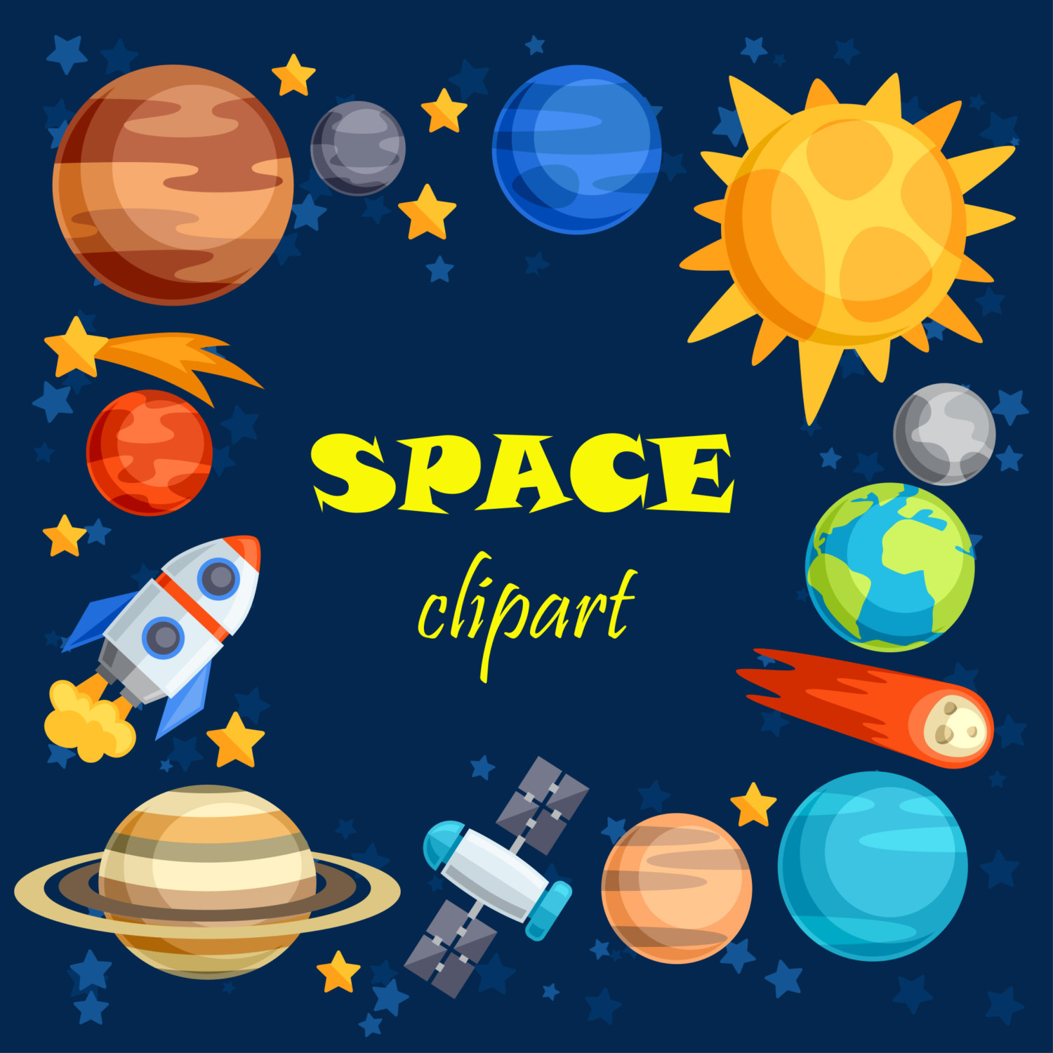 From Space clipart #5, Download drawings