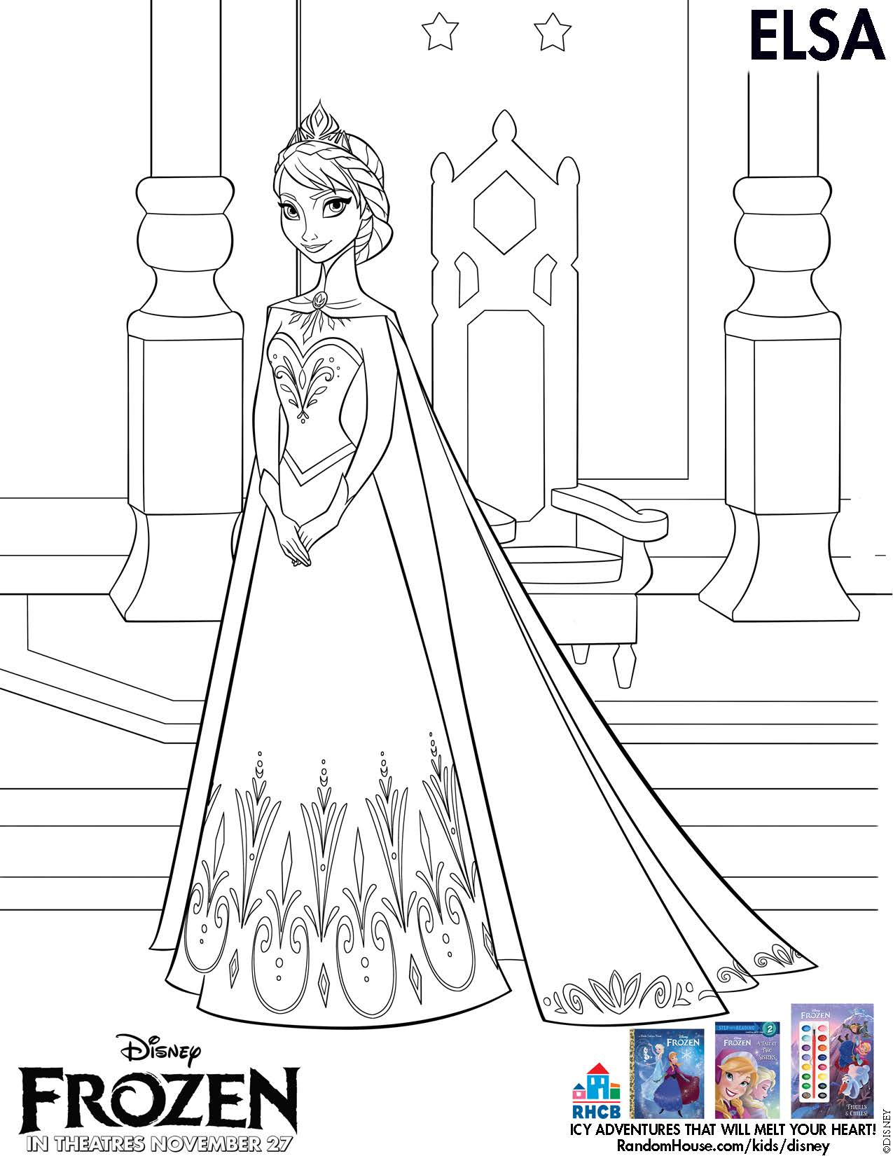 Frozen (Movie) coloring #4, Download drawings