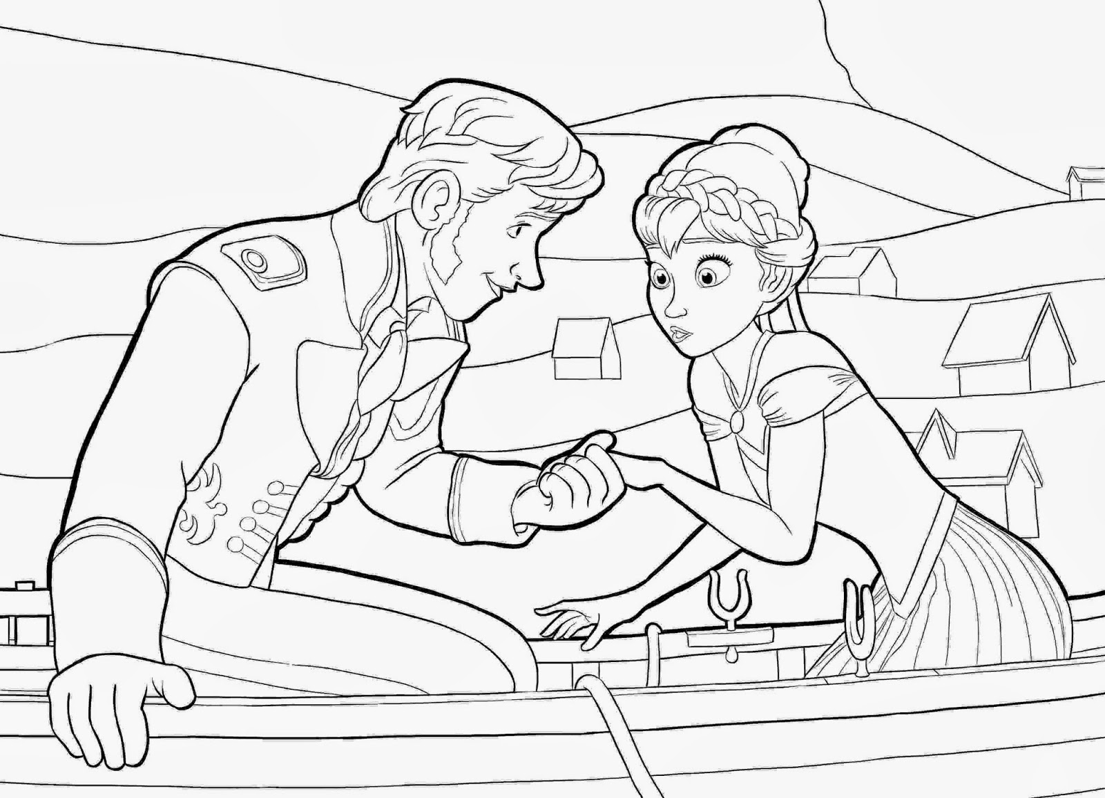 Frozen (Movie) coloring #9, Download drawings