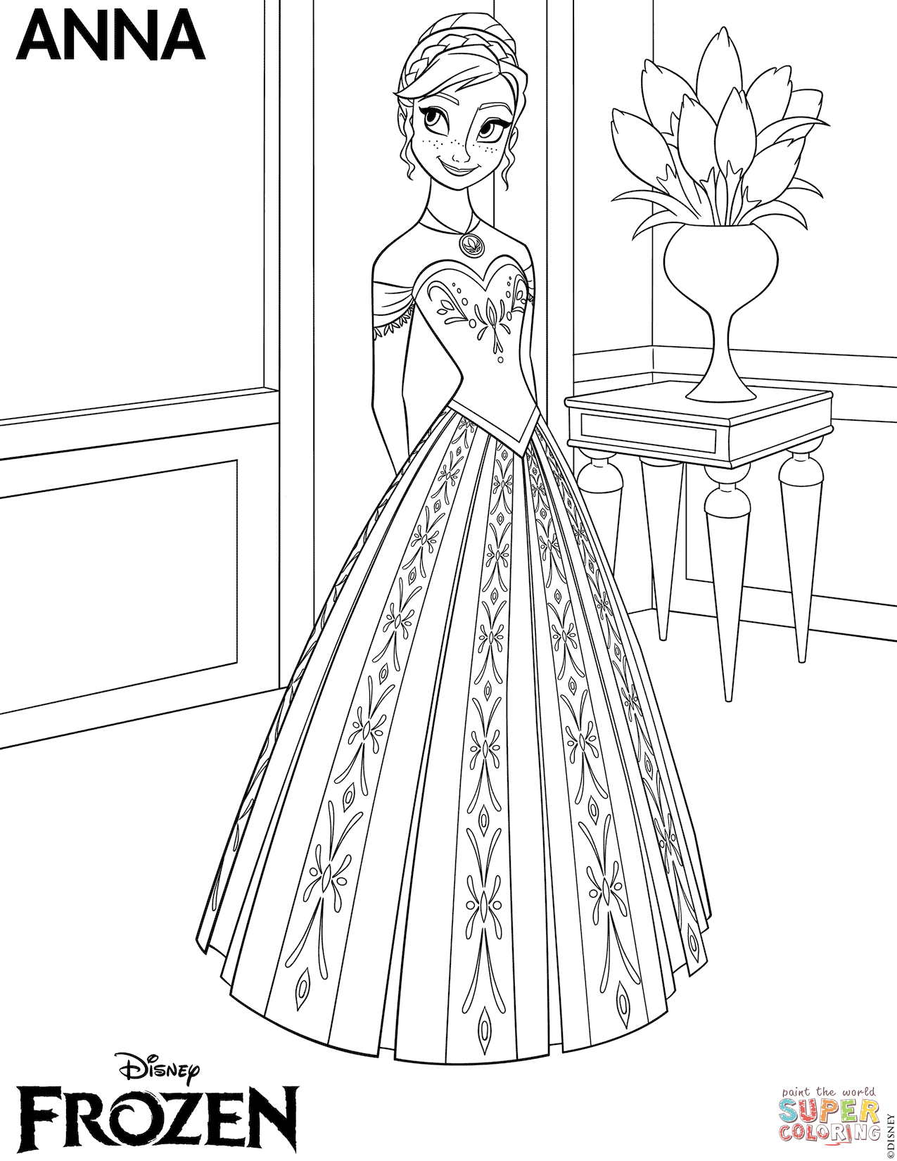 Frozen (Movie) coloring #6, Download drawings