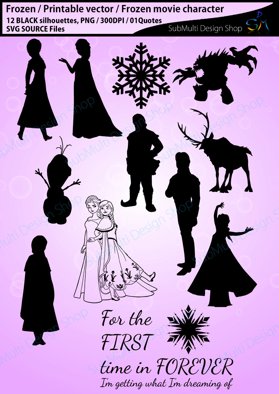 Frozen (Movie) svg #17, Download drawings