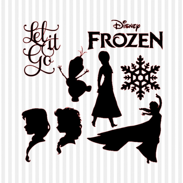 Frozen svg #1, Download drawings