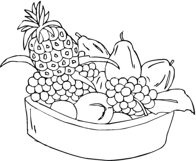 Fruit coloring #4, Download drawings