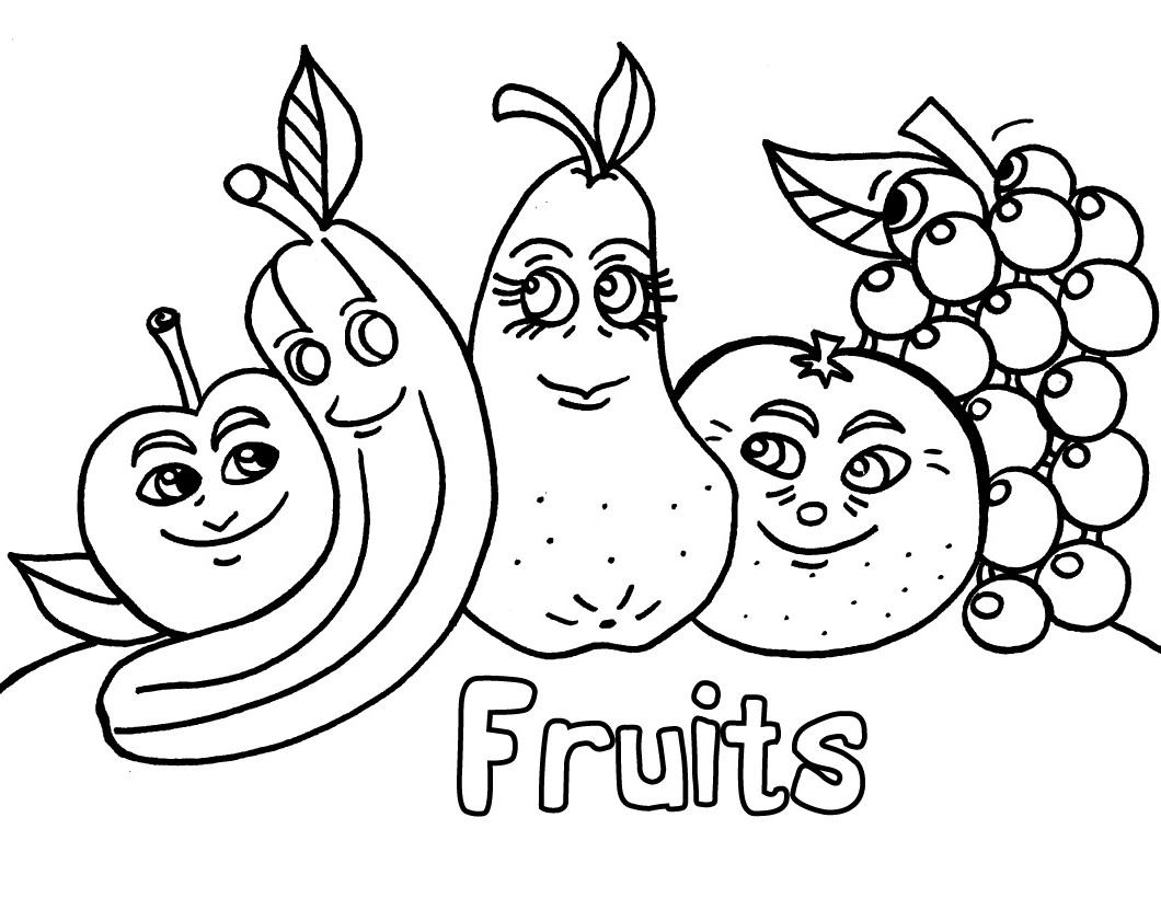 Fruit coloring #20, Download drawings