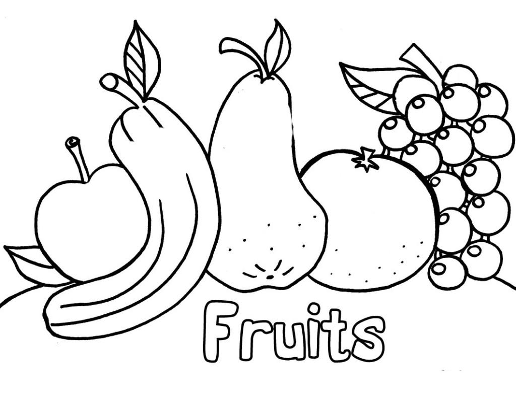 Fruit coloring #19, Download drawings
