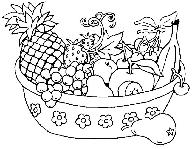 Fruit coloring #18, Download drawings