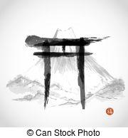 Fujiyama clipart #5, Download drawings