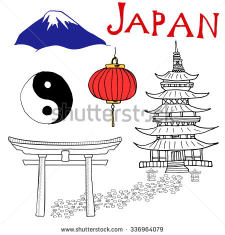 Shinto coloring #13, Download drawings