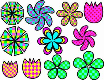 Funky clipart #1, Download drawings