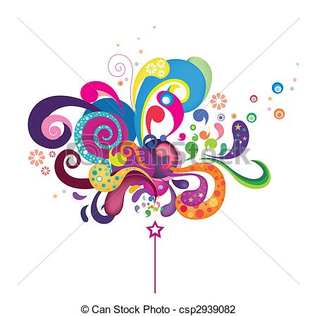 Funky clipart #3, Download drawings