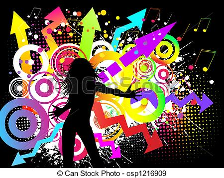 Funky clipart #4, Download drawings