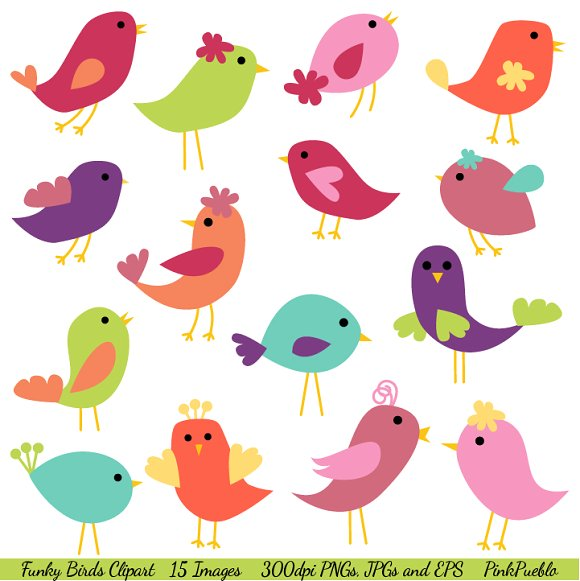 Funky clipart #6, Download drawings