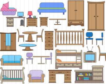 Furniture clipart #6, Download drawings