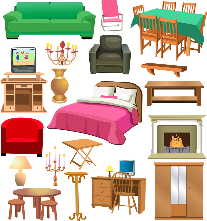 Furniture clipart #15, Download drawings