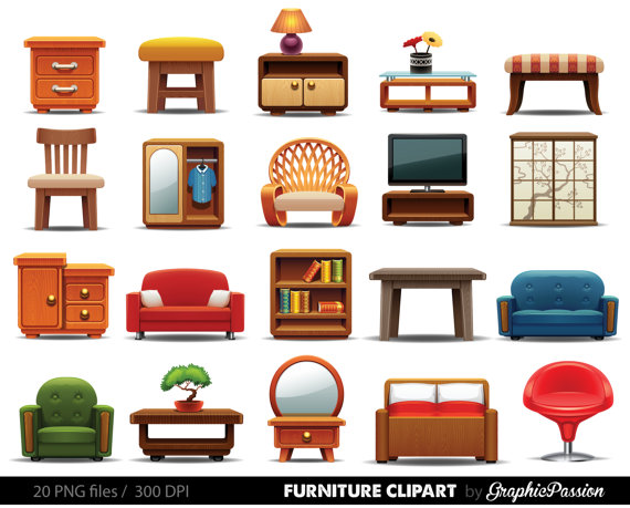 Furniture clipart #19, Download drawings