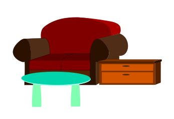 Furniture clipart #4, Download drawings