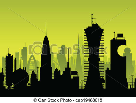Futuristic clipart #3, Download drawings