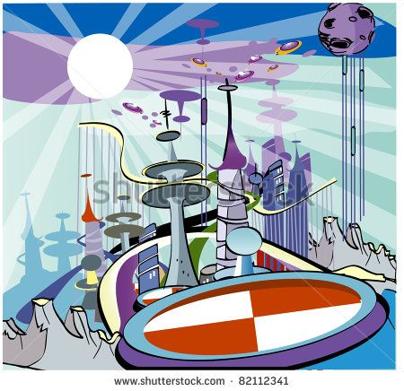 Futuristic clipart #6, Download drawings