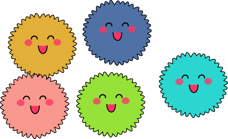 Fuzzy clipart #6, Download drawings