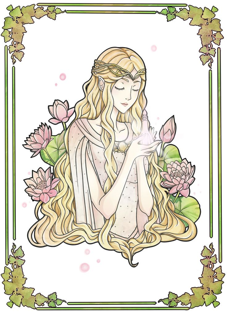 Galadriel clipart #9, Download drawings