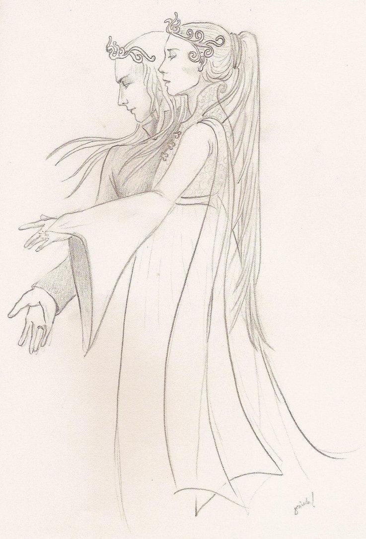 Galadriel coloring #16, Download drawings