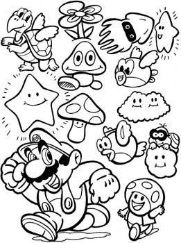 Video Game coloring #15, Download drawings