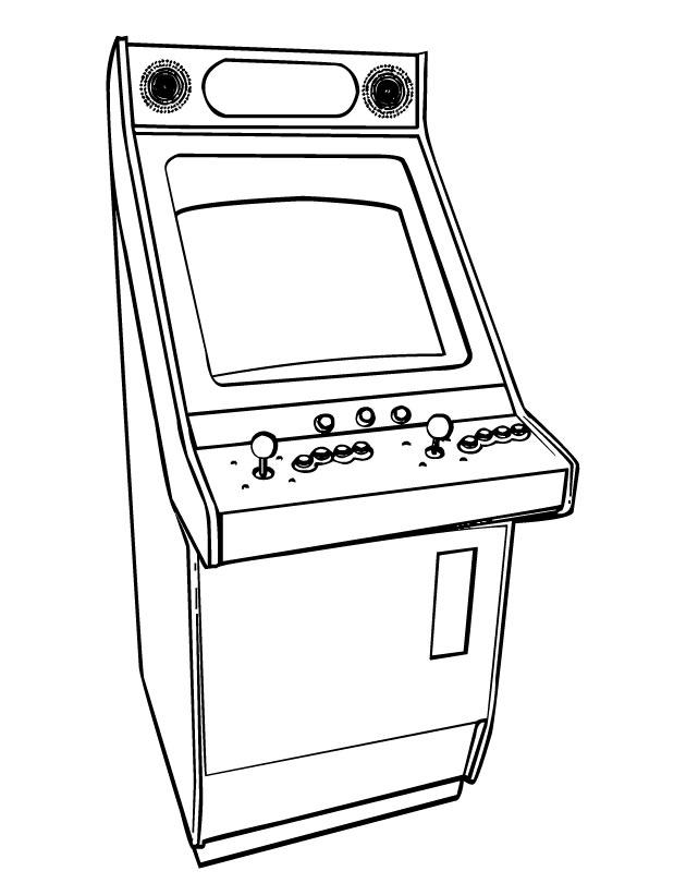 Video Game coloring #10, Download drawings