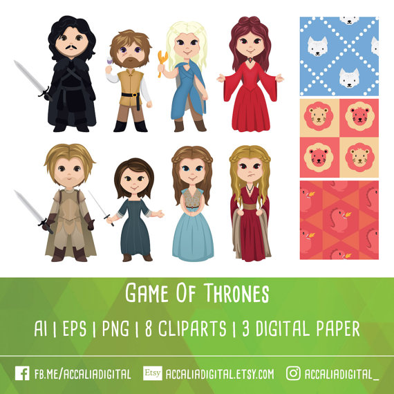 Game Of Thrones clipart #2, Download drawings
