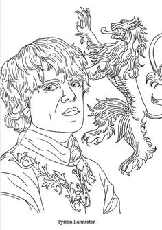 Game Of Thrones coloring #20, Download drawings