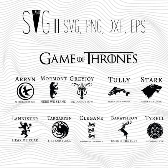 game of thrones svg free #1172, Download drawings