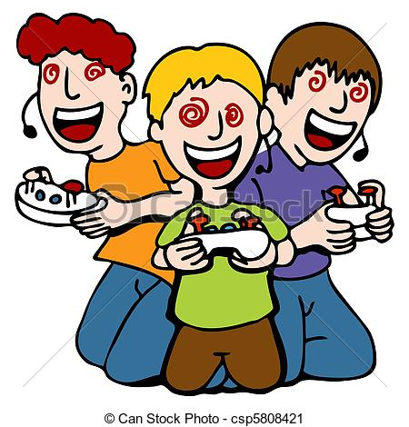 Gaming clipart #2, Download drawings