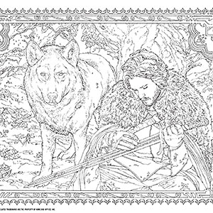 Game Of Thrones coloring #12, Download drawings