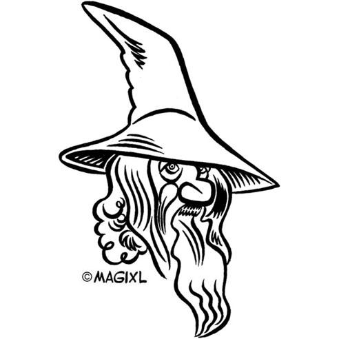 Gandalf clipart #15, Download drawings
