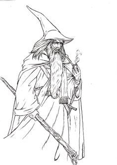 Gandalf clipart #8, Download drawings