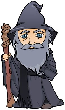 Gendalf clipart #15, Download drawings